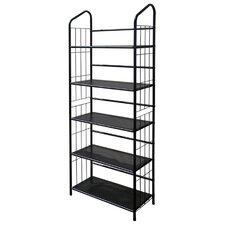 5 Tier Book Shelf in Black