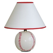 <strong>ORE Furniture</strong> Ceramic Baseball Table Lamp