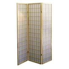 3 Panel Room Divider in Natural