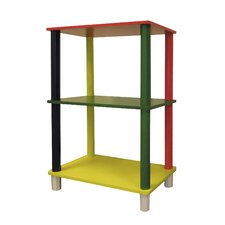 "Kid's 3 Tier Rectangle 28.5"" Bookcase"