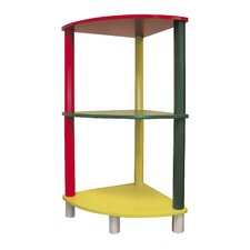 "Kid's 3 Tier Corner 28.5"" Bookcase"