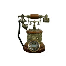 Classic Telephone in Copper