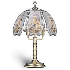 "Lighthouse Scence Touch 23.5"" H Table Lamp with Bowl Shade"