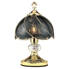 "Floral 14.25"" H Artistic Floral Touch Table Lamp"