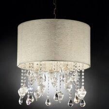 Drape Crystal 3 Light Ceiling Lamp