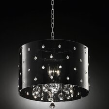 Star Crystal 1 Light Ceiling Lamp