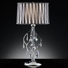 "Crystal 31"" H 1 Light Table Lamp"