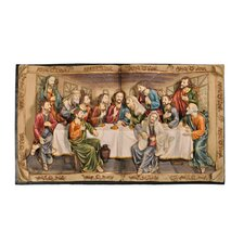 """The Last Supper"" 3-D Plaque"