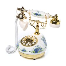 <strong>ORE Furniture</strong> Classic Telephone in White