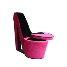 High Heels Storage Side Chair