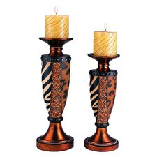 2 Piece Votive Candle Holder Set