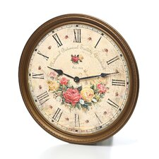 "Moment In Time Savannah Botanical VII Quartz 15"" Wall Clock"