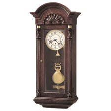 <strong>Howard Miller®</strong> Chiming Key-Wound Jennison Wall Clock