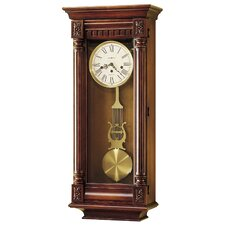 <strong>Howard Miller®</strong> Chiming Key-Wound New Haven Wall Clock