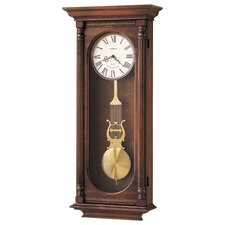 <strong>Howard Miller®</strong> Chiming Quartz Helmsley Wall Clock