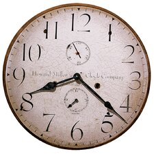 "<strong>Howard Miller®</strong> Moment In Time Original Howard Miller III 18"" Wall Clock"