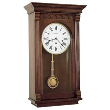 <strong>Howard Miller®</strong> Chiming Key - Wound Alcott Wall Clock