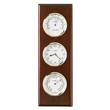 Weather and Maritime Shore Station Wall Clock