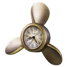 Propeller Arm Maritime Clock