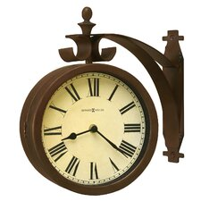 "Designer Choice O'Brien Double Dial 12.25"" Wall Clock"