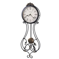 <strong>Howard Miller®</strong> Decorative Quartz Paulina Wall Clock