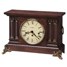 <strong>Howard Miller®</strong> Circa Key Wound Chiming Mantel Clock