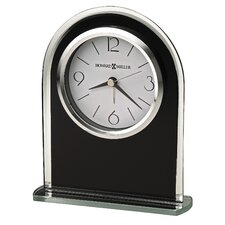 <strong>Howard Miller®</strong> Ebony Luster Alarm Clock