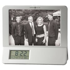 <strong>Howard Miller®</strong> Newton Photo Frame Table Top Clock