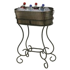 Entertainment Steel Beverage Tub