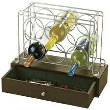 <strong>Howard Miller®</strong> 6 Bottle Tabletop Wine Rack