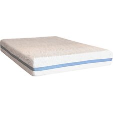 "Comfort Zone 12"" Latex Foam Mattress"