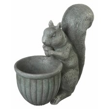<strong>Midwest Seasons</strong> Squirrel Planter