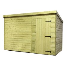 Pent Shed with Right Door