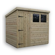 Pent Shed with 2 Windows