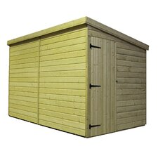 Pent Shed with Right Side Door
