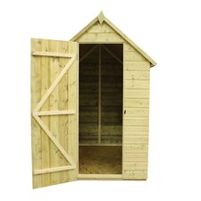 Apex Shed with 4 Windows