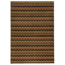 Lenoir Brown / Multi Geometric Rug