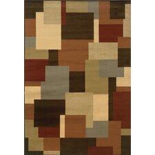 Sevilla Brown/Beige Geometric Rug