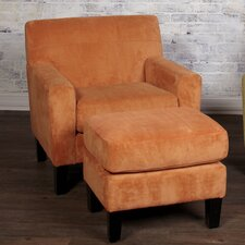 Rhythm Chair and Ottoman