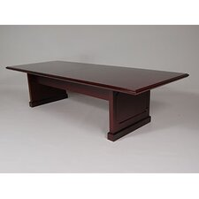 "<strong>Furniture Design Group</strong> Brunswick 120"" Conference Table with 2-Piece Top"