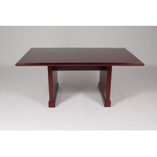 <strong>Furniture Design Group</strong> Brunswick Conference Table with 1-Piece Top