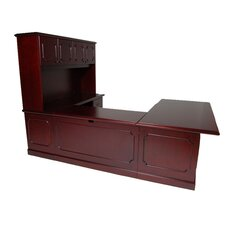 Brunswick Executive Desk with File Drawer