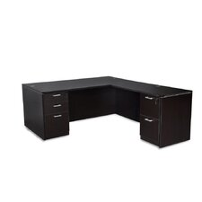 Nassau Corner Desk with File Drawer