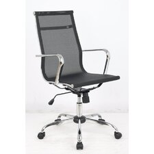 <strong>Furniture Design Group</strong> Excaliber High-Back Mesh Executive Ofice Chair with Arms