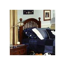 <strong>LC Kids</strong> American Spirit Low Poster Slat Headboard