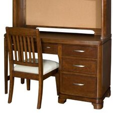 Newport Beach Four Drawer Computer Desk