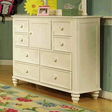 Summer Breeze Vertical Scroll Dresser