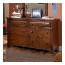 <strong>LC Kids</strong> Dawson's Ridge 6 Drawer Dresser