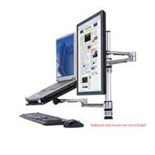 TaskMate Laptop Holder with Single Screen Monitor Mount