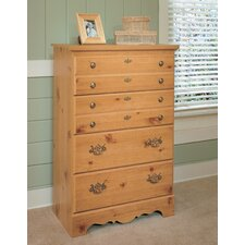 Mountain Pine 4 Drawer Chest